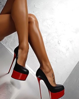 Sexy High Heels Platform Round Toe Sexy Shoes