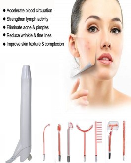 High Frequency Facial Machine Rejuvenate Electrotherapy Comb Skin Tightening Wrinkles Remover Acne Beauty Instrument