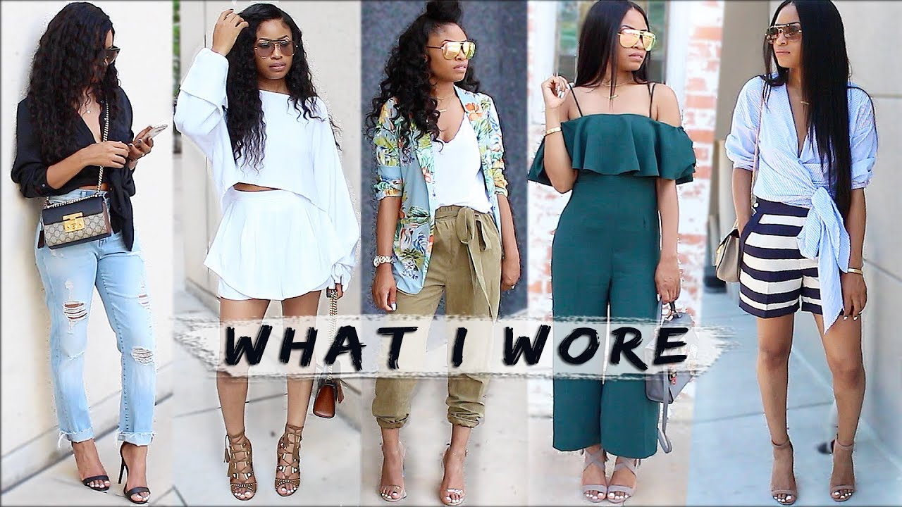 Read more about the article What I Wore | Spring OUTFITS (lookbook)