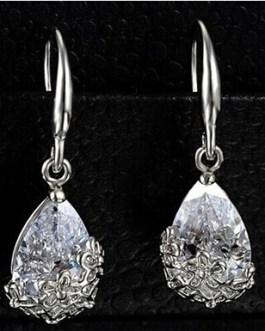Crystal Zircon Dangle Earring
