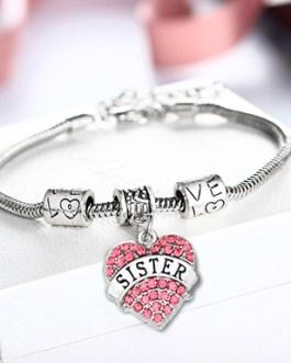 Tribute to Sister Rhinestone Bracelet