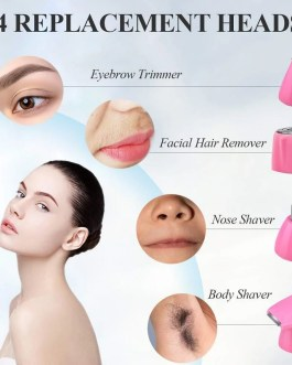 4in1 Epilator Eyebrow Nose Trimmer Hair Removal Shaver