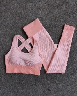 Fitness Sport Yoga Suit Set