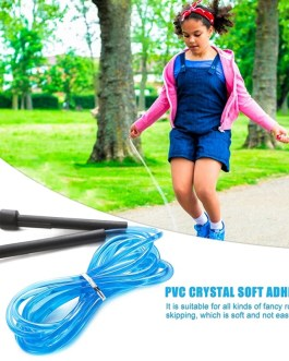 Soft Rubber Practical Wear-Resistant Portable Skipping Rope