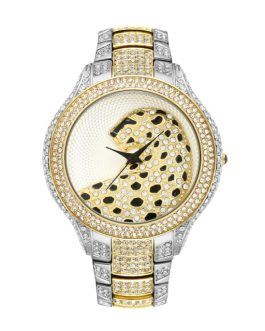 Casual Metal Super Shiny Rhinestone Wedding Wristwatch