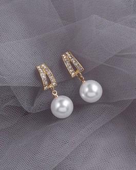 Fashion Cute Small Simple Pearl Earrings