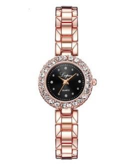 Luxury Diamond Jewelry Quartz Wrist Watch