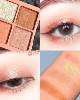 Metallic Luminous Makeup Shades Eyeshadow Pallete