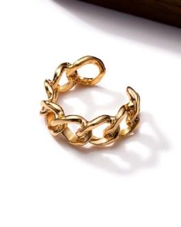 Adjustable Cross Chain Ring Set