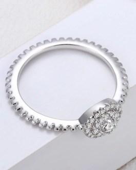 Fashion High-end Fine Crystal Inlay Vintage Ring