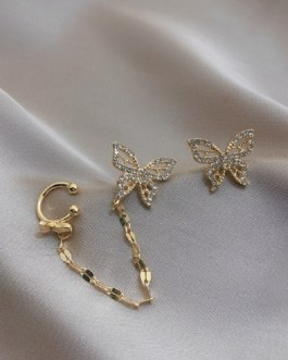 Fashion Metal Chain Boucle D'oreille Jewelry