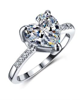 High Quality Shiny Crystal Zircon Rings