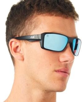 Polarized Square Frame Mirrored Sun glasses