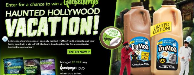 goosebumps vacation