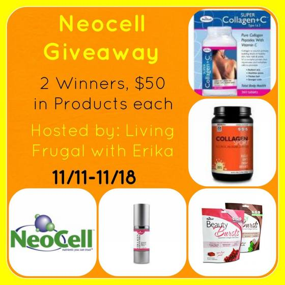 neocell giveaway button