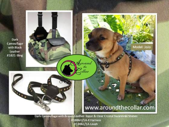 JoJo in Camo K Harness
