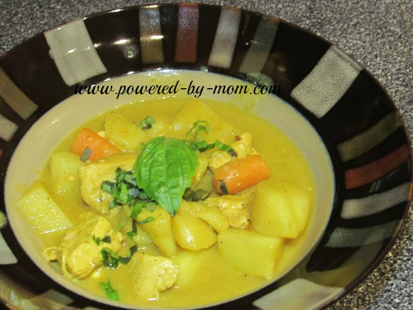 Thai Chicken Curry with Coconut Milk