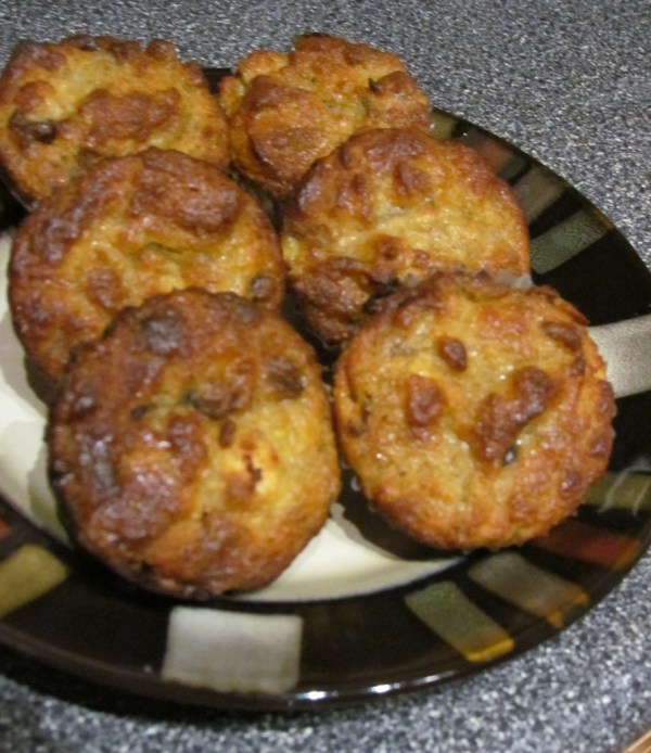 banana muffins with coconut flour