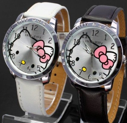 hello kitty 2 watch set