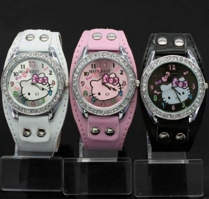 hello kitty 3 watch set