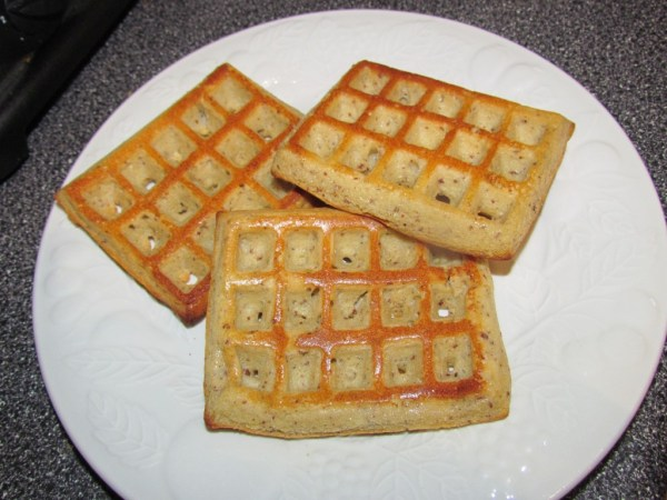 gluten-free oven baked waffles