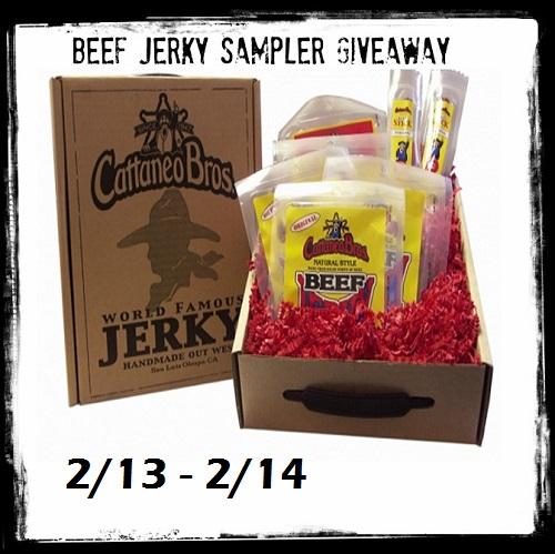 beef jerky sampler giveaway