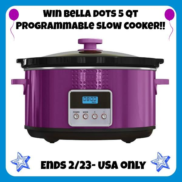 bella dots slow cooker