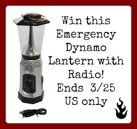 emergency dynamo lantern