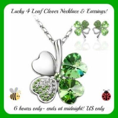 four leaf clover flash