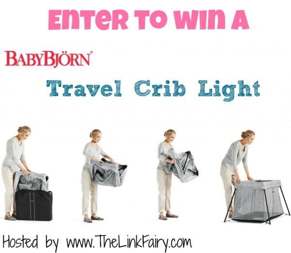 BabyBjorn Travel Crib Light Giveaway