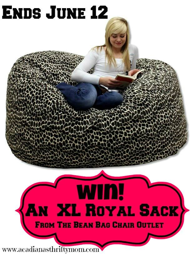 Miraculous Bean Bag Giveaway Powered By Mom Beatyapartments Chair Design Images Beatyapartmentscom