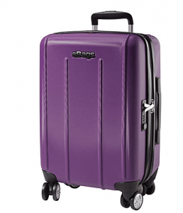 carry-on purple
