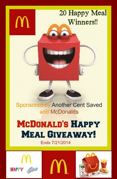 mcdonalds happy meal giveaway