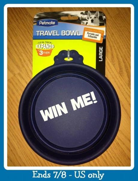 pet mate travel bowl