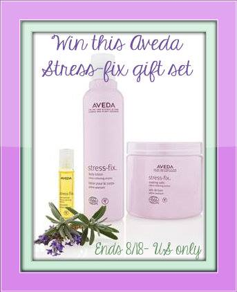 aveda stress less