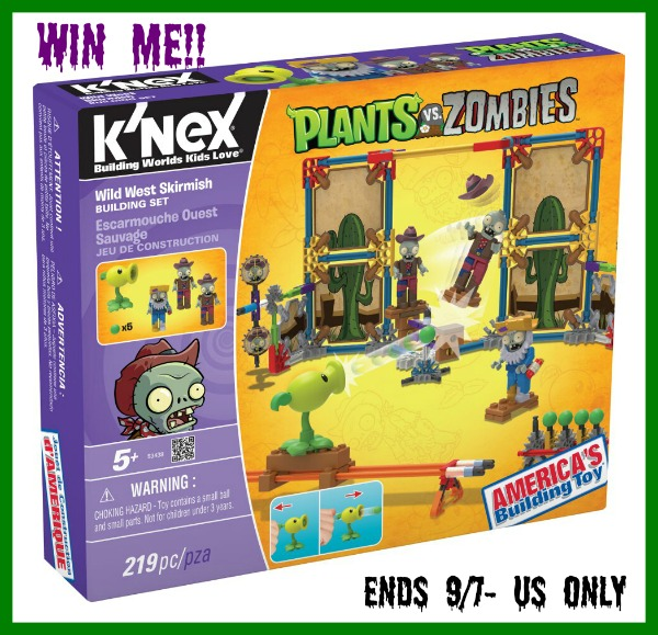 knex plants and zombies