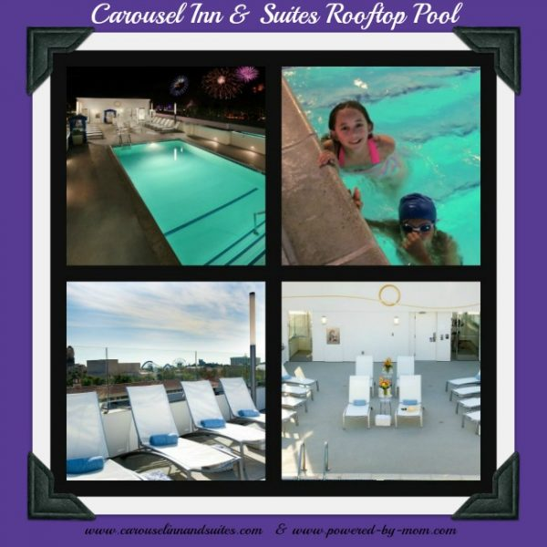 carousel inn and suites pool collage finished