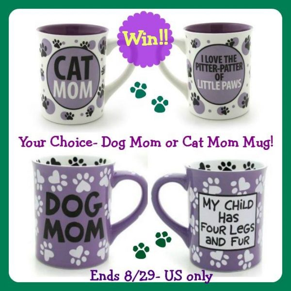 dog or cat mom mug