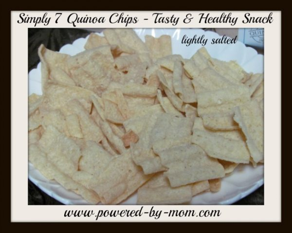 quinoa chips lightly salted
