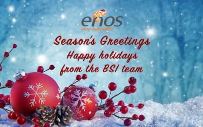Greeting's season – Happy Holidays