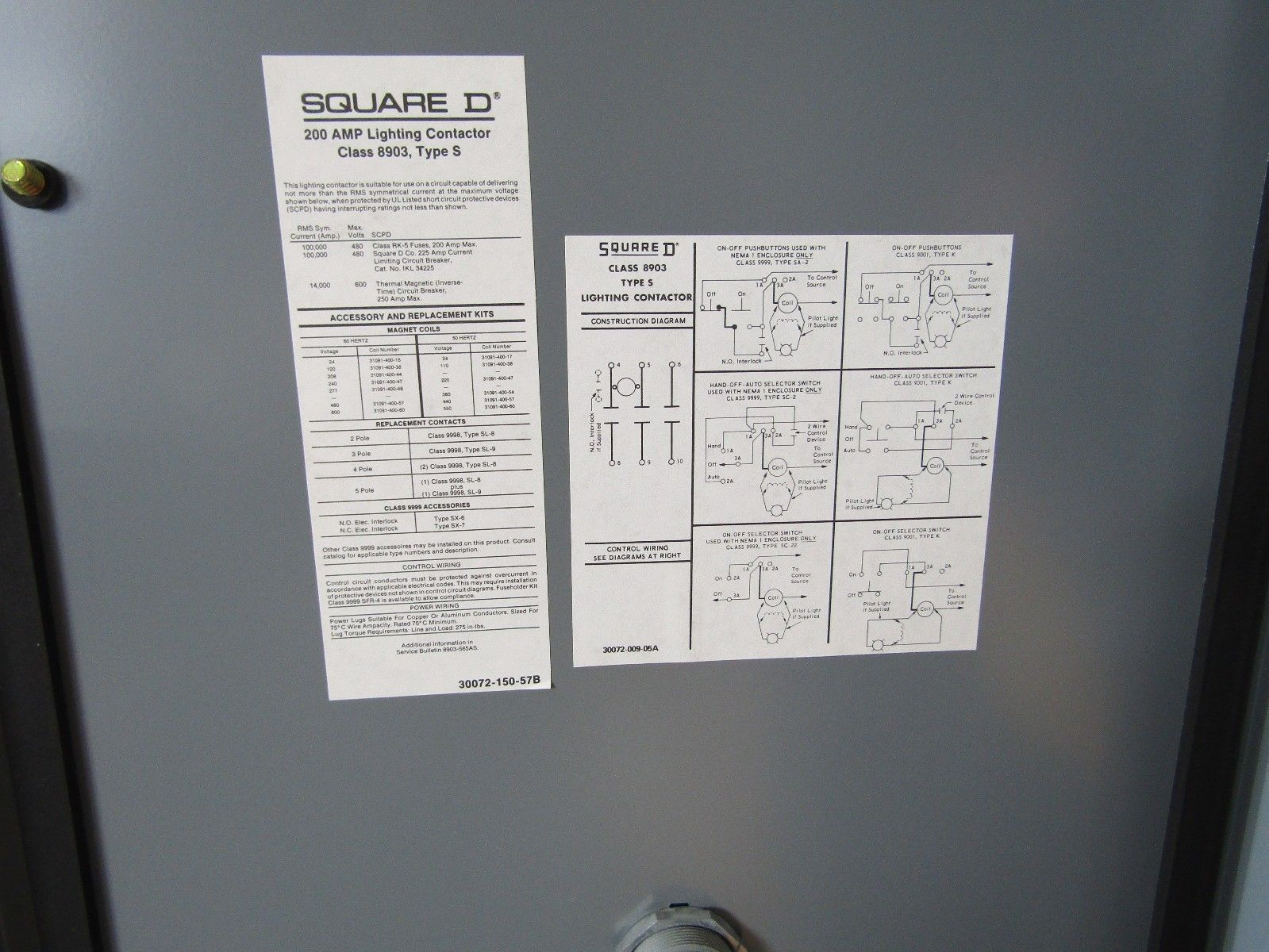 Fine 3 Pole Lighting Contactor Wiring Diagram Ideas - Electrical and ...