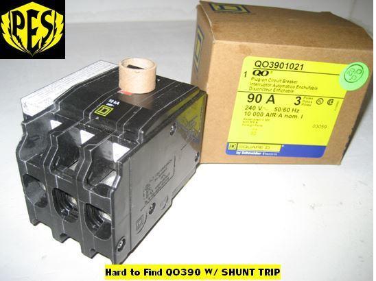 Square D Plug In Circuit Breaker Qo390 Walmartcom