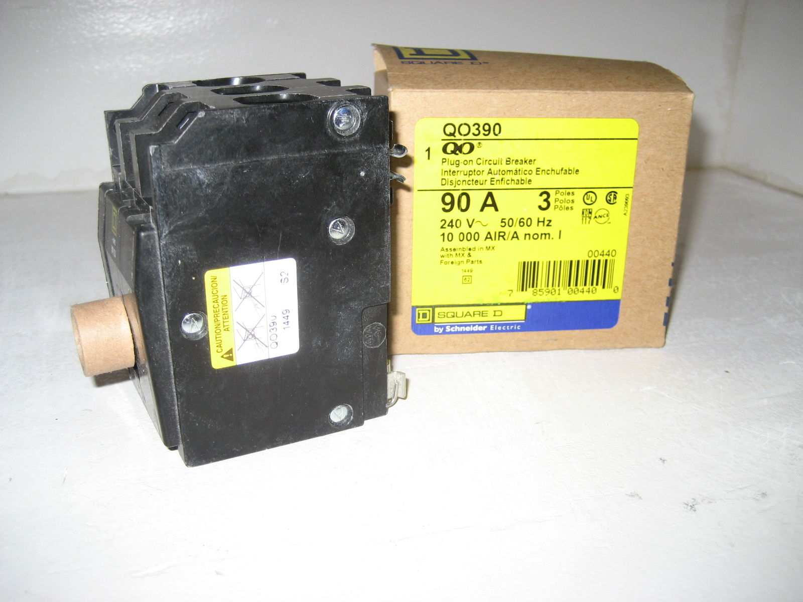 Square D Plug In Circuit Breaker Qo390 Walmartcom