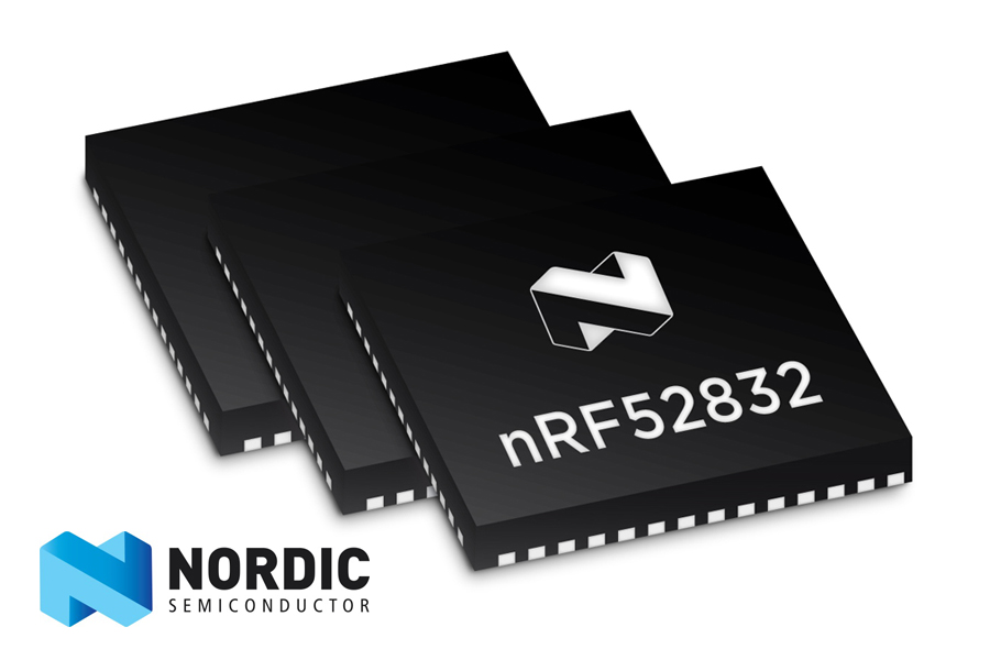 WL-CSP(Wafer Level Chip Scale Package) nRF52832 블루투스 저에너지(Bluetooth® Low Energy) SoC(System-on-Chip)