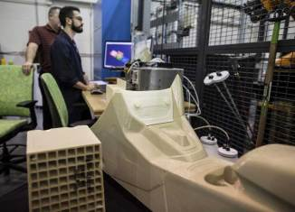 Ford 3D printing lab (source: Ford)