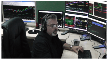 Jeffrey on the trading desk
