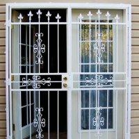 How To Install A Unqie Home Design Patio Security Screen
