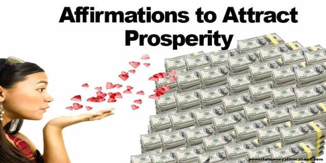 Powerful Affirmations to Attract Prosperity