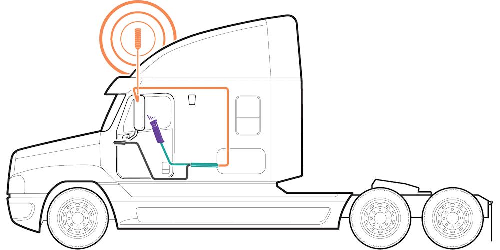 weBoost Drive Sleek OTR Trucker Cell Phone Booster 470235