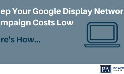Google Display Network Campaign Costs